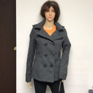 New with tag American Rag jacket peacoat gray M